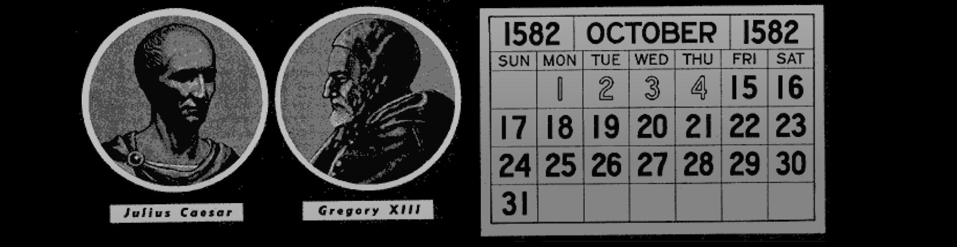 Julian Gregorian Calendars